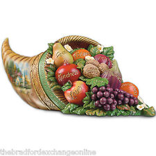 Thomas Kinkade's Fruit Of The Spirit Tabletop Centerpiece By Bradford Exchange
