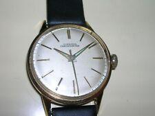 JUNGHANS Chronometer Cal 82 1957 20 Mikron vergoldet gebrauchsfertig revidiert