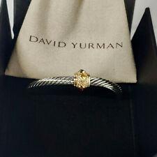 David Yurman 5mm Cable Classic Renaissance Bracelet with Citrine