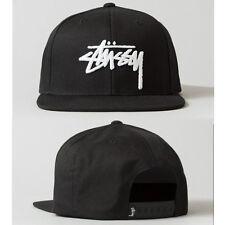 New Hot Black Fashion trend Men's Snapback adjustable Baseball cap Hip Hop Hat