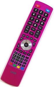 Genuine Logik Pink TV/DVD Combi Remote For L19LDVP11 L19LDVB11 L19LDVN11