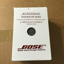 1x Bose acoustimass horizontal center speaker. Lifestyle 28,38,V20,V25. New