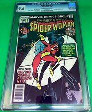 Spider-Woman #1 4/78 CGC 9.6 - New origin of Spider-Woman Jessica Drew!
