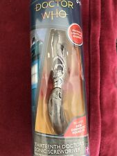Doctor Who 13th Doctor  USA And U.K. Versions Sonic Screwdriver Toys