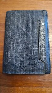 montblanc wallet used, excellent condition 100% ORIGINAL