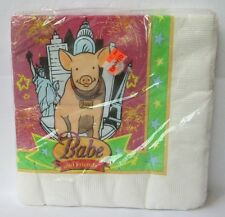 16 BABE THE PIG PARTY NAPKINS, Paper Art