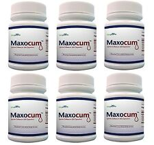 6 x Maxocum Pills Increase Semen Volume 500% More Sperm Massive Load Maxo Cum