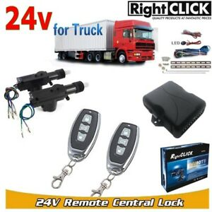 24V pour Camion 2door Central Kit Verrouillage à Distance sans Clé