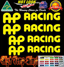 AP Racing HIGH TEMP BRAKE CALIPER Decals All COLOURS Suit HOLDEN COMMODORE HSV