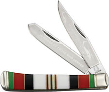 "Rough Rider Afghanistan Commemorative Knife RR1404 ""Afghanistan War Veteran"" bla"
