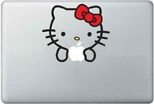 "Hello Kitty Sticker Decal Vinyl Cover Apple Macbook Air & Pro & Retina 13""15""17"