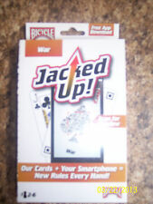 BNIB Bicycle -War- Jacked Up Card Game -For 2-6 Players And Free App Download-