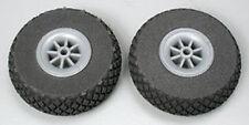 "DUB250DL Diamond Lite Wheels 2-1/2"" (2)  Du-Bro Airplane Parts"
