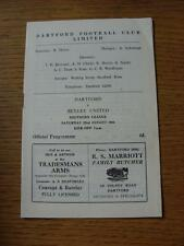 22/08/1964 Dartford v Bexley United  (Item in very good condition, no obvious fa