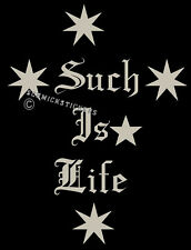 SUCH IS LIFE SOUTHERN CROSS SILVER NED KELLY STICKER
