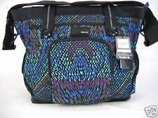 New Womens Girls Hurley Laptop Messenger Black Carry Book Bag