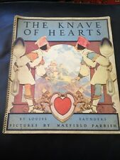 PAPERBACK KNAVE OF HEARTS LOUISE SAUNDERS MAXFIELD PARRISH