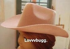 "Light Tan Cowboy Riding Hat for 18"" American Girl & Bitty Baby Doll  Found IT!"