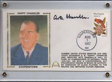 Happy Chandler Hall Of Fame Autographed Gateway Stamp Envelope