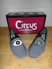 "Circus by Sam Edelman Leni 2 Black White Eye ""I CAN'T"" US Size 8 M New with box"