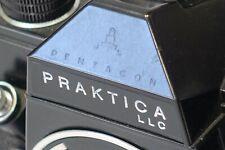Praktica LLC 35mm SLR camera body, all Black ver., M42 lens mount, m/i GDR