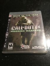 Call of Duty 4: Modern Warfare PlayStation 3 Ps3 Game Year Ed New Factory Sealed