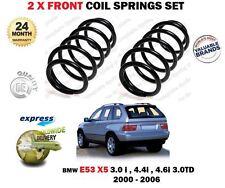 PER BMW X5 E53 3.0 4.4 3.0 TD 2000-2006 NUOVO 2x ANT SX DESTRO serpentina MOLLE