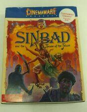 Sinbad and the Throne of the Falcon Cinemaware PC IBM Big Box Vintage 1988