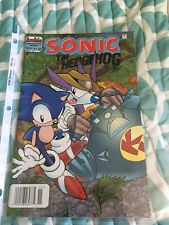 Sonic The Hedgehog-The Series (1993 Series) (Archie) #40 Newsstand Upc Vf+/Nm