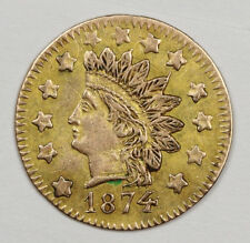 1874 California Gold $1/2 Dollar.  BG1055.  High Grade.  129676
