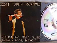 Scott Joplin- Ragtimes- Graf/ Wyss- CLAVES 1987- No Barcode