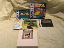 Gameboy Tetris Plus / Box & Manuals / Small Poster