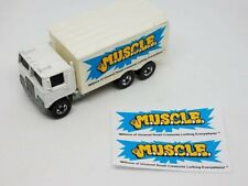 MUSCLE -set of 2 decals-fits Hot Wheels Hiway Hauler Trailer- Clone Prototype