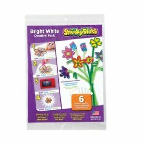 Shrinky Dinks Bright White Creative Pack 6pk