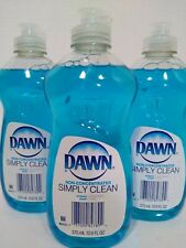 Dawn Simply Clean Non Concentrated Dish Soap 3 Pack of 12.6 fl oz bottles