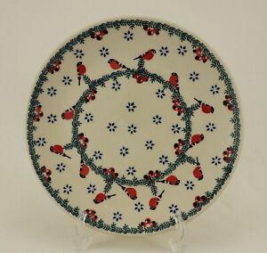 B-Ware Bunzlauer Keramik Teller, Essteller, Kuchenteller, Frühstück, ø 22cm (T13