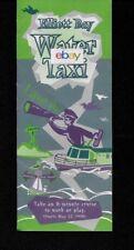 Elliott Bay Water Taxi Seattle/West Seattle Seacrest Park Brochure/Schedule/Map