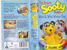 SOOTY WET AND WILD WATER FUN    VHS VIDEO PAL~ A RARE FIND~