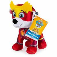 "Marshal Mighty Pups Super Paws Stuffed Figure 8"" Paw Patrol New Free Shipping"