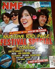 NME MAGAZINE MAY 2007 - 100 PAGE FESTIVAL SPECIAL - ARCTIC MONKEYS - MUSE