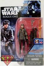 "SERGEANT JYN ERSO (EADU) Star Wars Rogue One Movie 3 3/4"" Action Figure 2016"