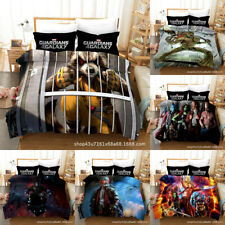 Guardians of the Galaxy Bedding Set 3PCS Quilt Cover PillowcaseDuvet Cover