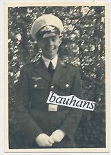Photo-portrait soldat de la Luftwaffe avec weisser été visiere (156)