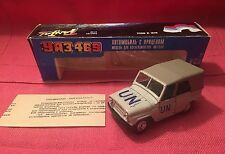 Vintage Russian U N Diecast Jeep UAZ YA3 Jeep No. A34 - 469 - 1:43 NEW OLD STOCK