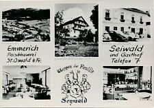 Nr.30333  Foto PK  St.  Oswald bei Freistadt Gasthof Seiwald   um 1960  O:Ö.