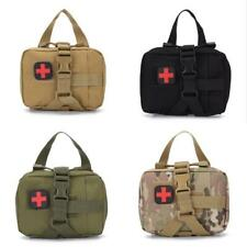 Tactical Medical Bag First Aid Kit Outdoor Emergency Survival Pouch