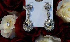 Crystal Platinium Rhinestone Earring