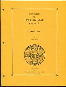 Catalog of Tonga Niuafoou Tin Can Mail Cachets by Janet Klug  +/- 75 Pages