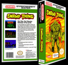 Swamp Thing - NES Reproduction Art Case/Box No Game Nintendo
