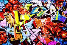 STUNNING POP ART GRAFFITI URBAN STREET ART CANVAS #729 QUALITY A1 ART PICTURE